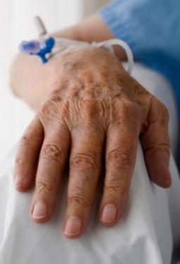 IV hand