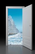 Door to winter